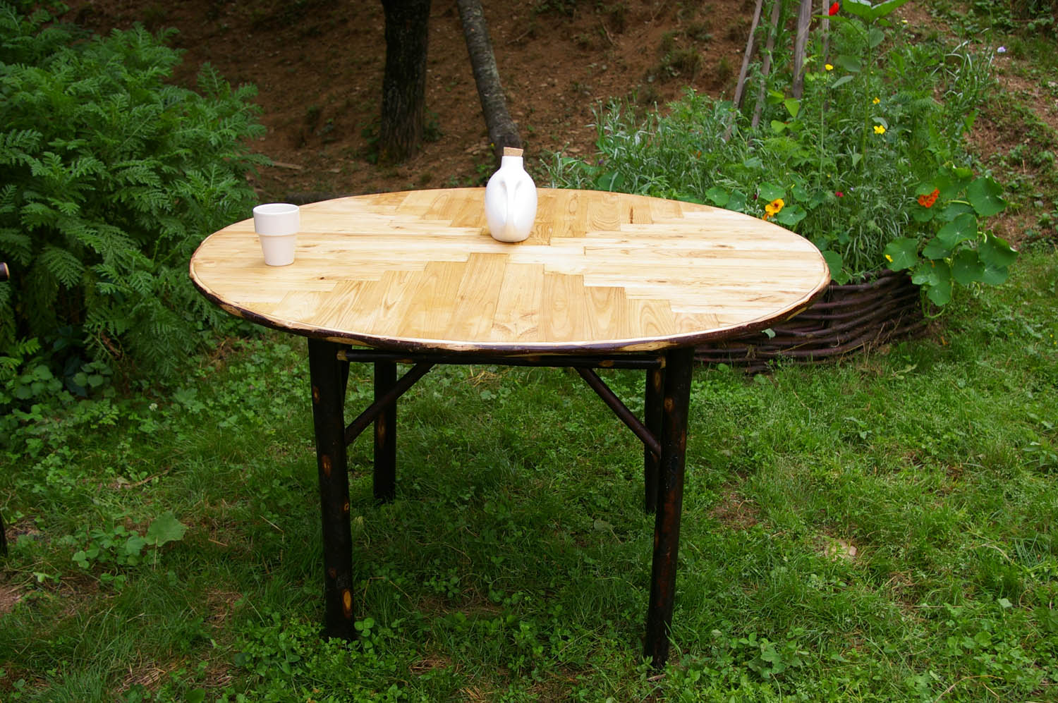 table-chataignier