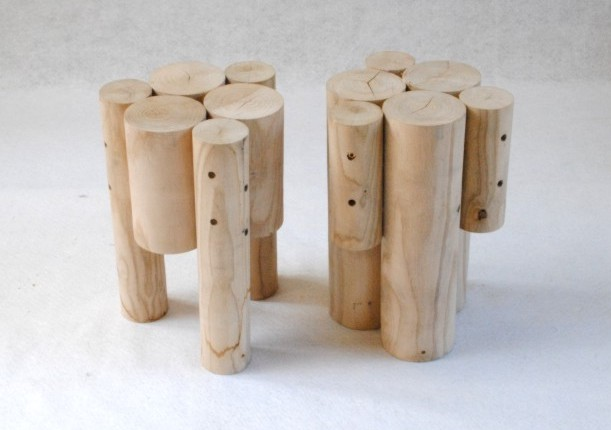 log-tabourets-stool-tools