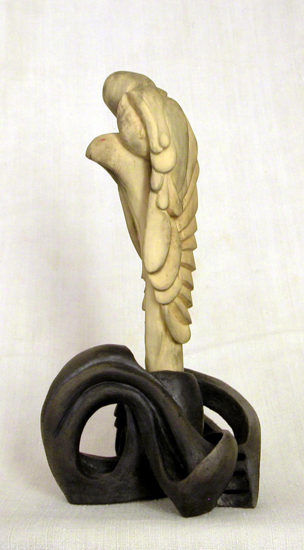 benoit cabassole sculpture terre et bois